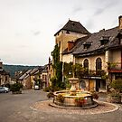 Najac Fountain by Rob Lewis