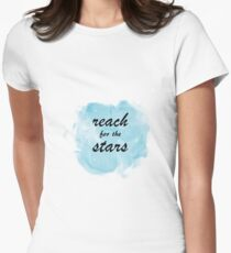 Reach for the Stars Womens Fitted T-Shirt