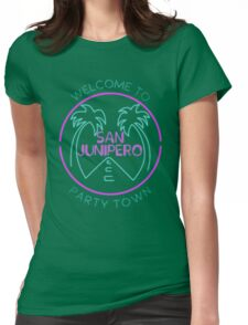 san junipero Womens Fitted T-Shirt