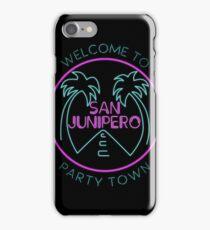 san junipero iPhone Case/Skin
