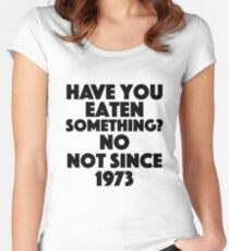 Absolutely Fabulous - Have you eaten something? No not since 1973 Women's Fitted Scoop T-Shirt