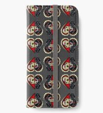 Ashes - Day of the Dead Couple - Sugar Skull Lovers iPhone Wallet/Case/Skin