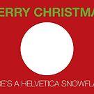 Helvetica Snowflake by MStyborski