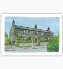 Horsforth Leeds Long Row Sticker
