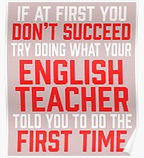 Do It Like English Teacher Told You Poster