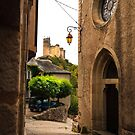 Najac Alley by Rob Lewis
