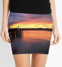 Sunsets in Australia Mini Skirt