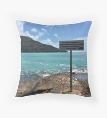 The Tip of Australia Throw Pillow