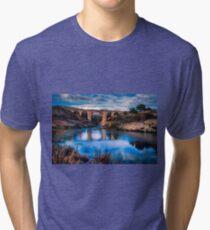 Water under Amadorio bridge Tri-blend T-Shirt
