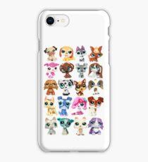 Littlest Pet Shop Dog Collage iPhone Case/Skin