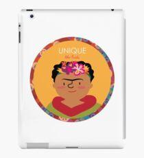 Unique like Frida Kahlo iPad Case/Skin