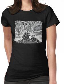 Iwo Jima Womens Fitted T-Shirt