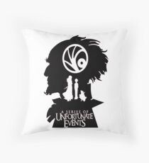 A Series of Unfortunate Events Throw Pillow