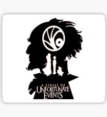A Series of Unfortunate Events Sticker