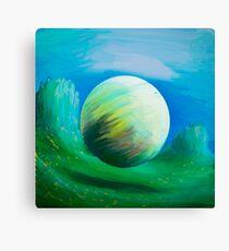 Gravitas Sphere Of Nature Canvas Print