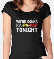 Loïc Nottet  - Rhythm Inside [2015, Belgium] Women's Fitted Scoop T-Shirt