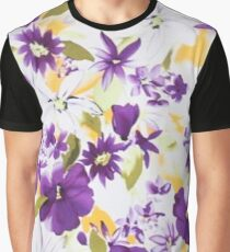 Blooms And Blossoms Graphic T-Shirt