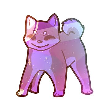 space shibe sticker by batprints