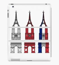 France_icons_outline iPad Case/Skin