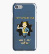 Secure Your Future Today iPhone Case/Skin