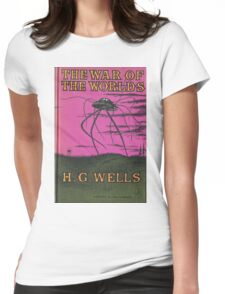 The War of the Worlds by HG Wells Womens Fitted T-Shirt