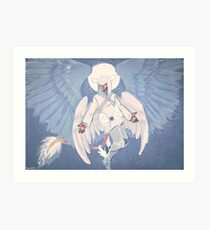 Angel Art Print