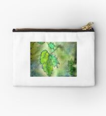 Green Leaves Studio Pouch
