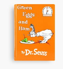 Green Eggs and Ham by Dr Suess Canvas Print