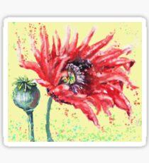 Poppy Fantasy Sticker