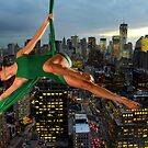 Acrobatics over New York by Carnisch