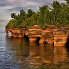 Apostle Islands Sea Caves - Wisconsin by Kathy Weaver