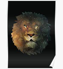 Magic Lion Poster