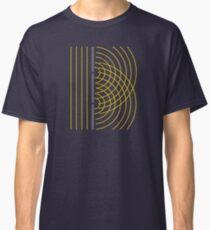 Double Slit Light Wave Particle Science Experiment Classic T-Shirt
