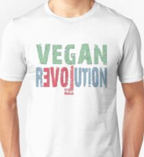 VEGAN REVOLUTION - vegan, vegetarian, animal rights, cruelty to animals Unisex T-Shirt