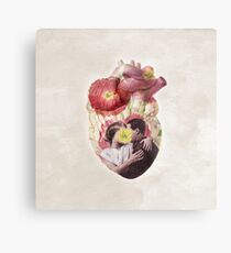 You Are In My Heart - floral version Metal Print