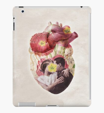 You Are In My Heart - floral version iPad Case/Skin