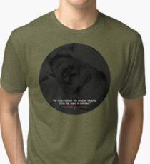 Charles Bukowski quote Tri-blend T-Shirt