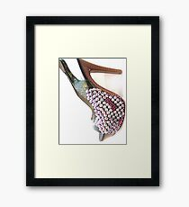 Bling Heels Framed Print