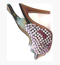 Bling Heels Photographic Print