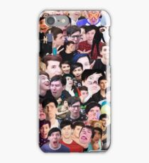Dan Howell and Phil Lester Collage iPhone Case/Skin