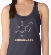 Scientific Chocolate Element Theobromine Molecule Women's Tank Top