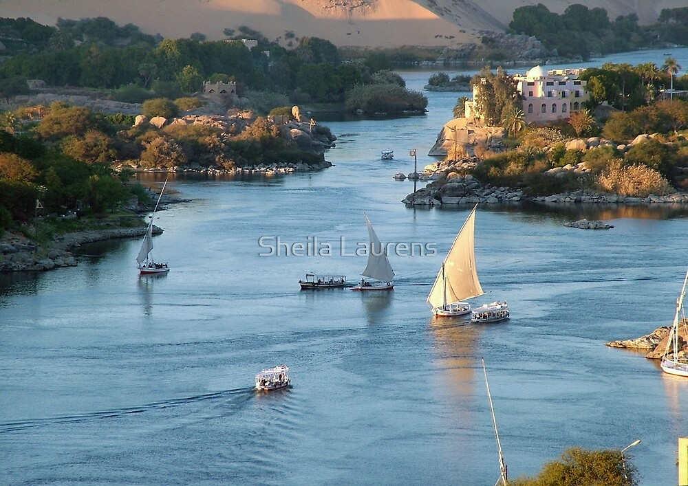 Cataracts of the Nile Egypt by dunawori