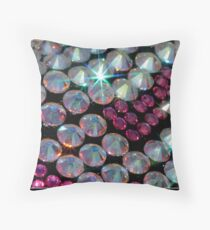 Bling in Pink Throw Pillow