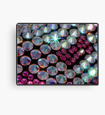 Bling in Pink Canvas Print