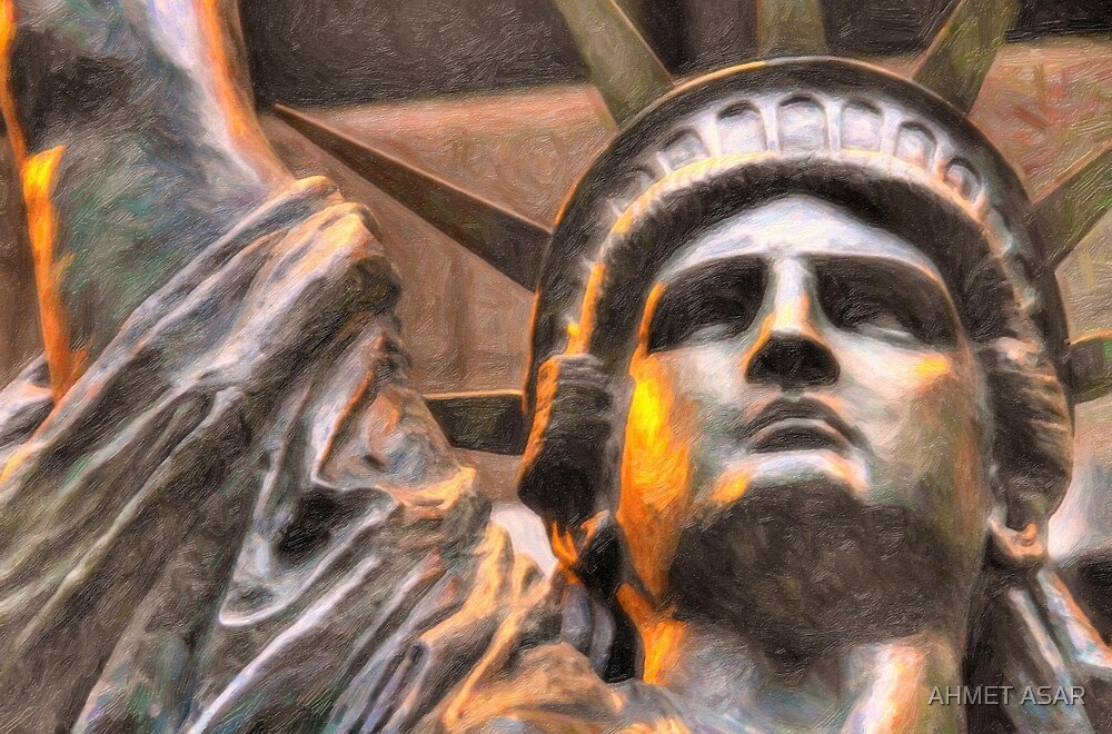lady liberty by MotionAge Media
