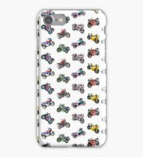 RIDE MTRCYCLS (Vintage motorcycles motorbikes pattern) iPhone Case/Skin