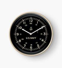 Retro US NAVY Clock Nachahmung Uhr