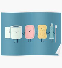 The Bathroom Gang Poster