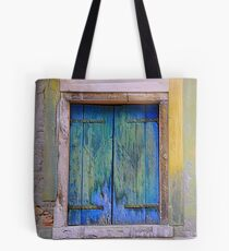 Shuttered & Battered Window Tote Bag