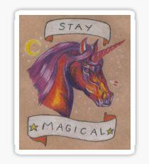 Space Unicorn Sticker